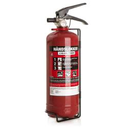 Brannslukker 2 kg abc pulver 13a 89b