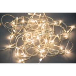 Minilys 80 LEDpærer transparent 5 + 8 m