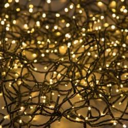 Minilys 80 LEDpærer sort 5 + 8 m