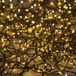 Minilys 120 LEDpærer sort 5 + 12 m