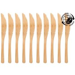 Kniv bamboo natur 10-pk 16cm