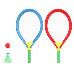 Badmintonracket gigant 2 stk med tilbehør