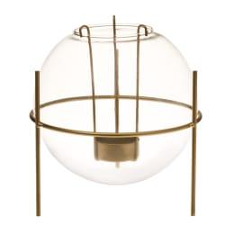 Lysglass med stativ 16x16x16cm