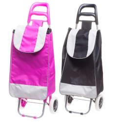 Trillebag med hjul ass farger rosa sort