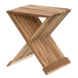 Bord foldbart teak 43cm
