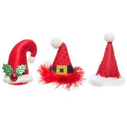 Dekorhatt med pinne juledekor