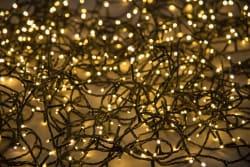 Minilys 240 LEDpærer sort 5 + 24 m