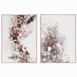 Bilde tørkede blomster assortert 50x70cm