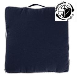 Setepute mørk blå 40x40cm