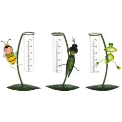 Regnmåler ''insekt'' 3 assortert 21cm