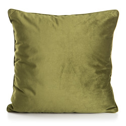 Pute Velvet olivengrønn 45x45 cm