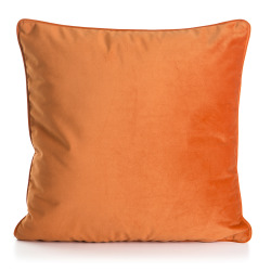 Pute Velvet oransje 45x45 cm