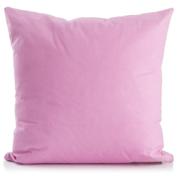 Putetrekk Vera rosa 45x45 cm