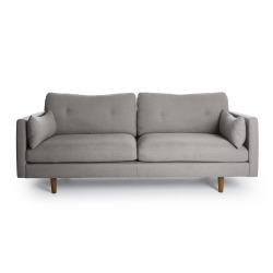 Sofa 3-seter lys grå