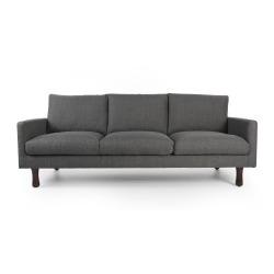 Sofa 3-seter grå