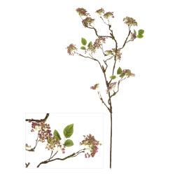 Gren villblomst rosa H:90 cm