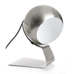 Bordlampe i krommet stål
