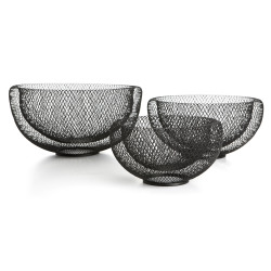 Bolle s/3 i metall netting sort