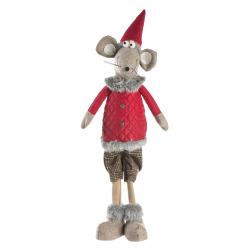 Figur mus stående H:60 cm