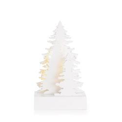 Dekorasjon m/15 LED lys Skog liten