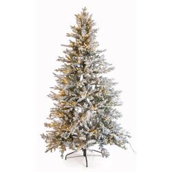 Juletre Vinje 210 cm 3857 tips m/snø og 450 LED lys