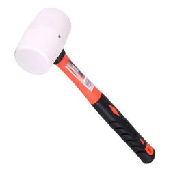 Hammer gummi 450 g Ø:55 mm glassfiberskaft