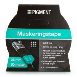Maskeringstape 38 mm 50 m Pigment