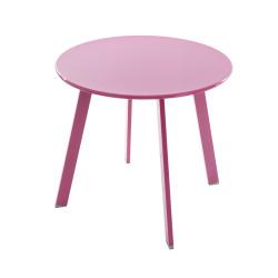 Avlastningsbord Hemnes Ø:49 cm rosa