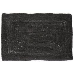 Spisebrikke jute koksgrå 48x33 cm