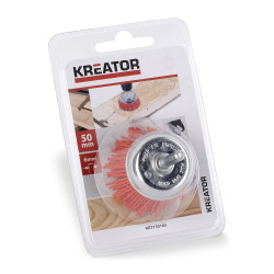 Drillbørste nylon 50 mm Kreator