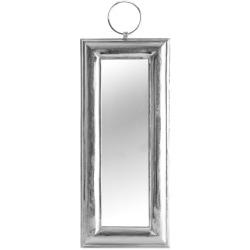 Speil sølv avlangt H:74 cm