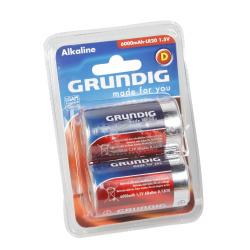 Batteri D/LR20 2 pk Grundig