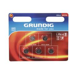 Batteri knappcelle 1216 5 pk Grundig