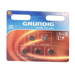 Batteri knappcelle 1220 5 pk Grundig