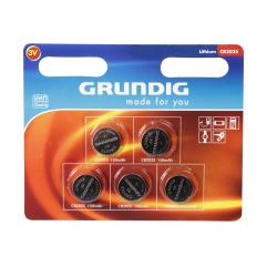 Batteri knappcelle 2025 5 pk Grundig