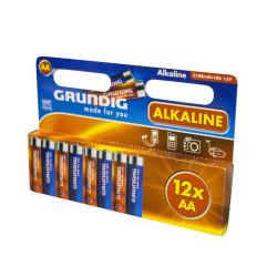 Batteri AA/LR6 12 pk Grundig