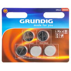Batteri knappcelle 2430 5 pk Grundig