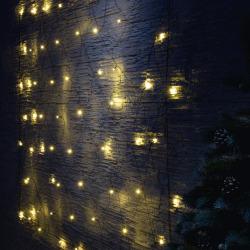 200 Minilys LED nett varmhvit ute/inne 2,4x1,2 m