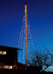 Flaggstangbelysning 8x9m 400 lys LED IP44