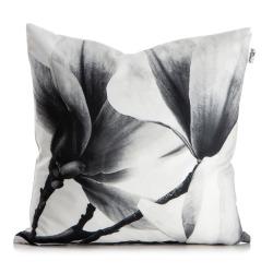Madame Pute Magnolia hvit/grå poyester med dunfyll H:15 B:50 D:50