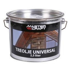 Treolje 2,5l mahogni metall spann