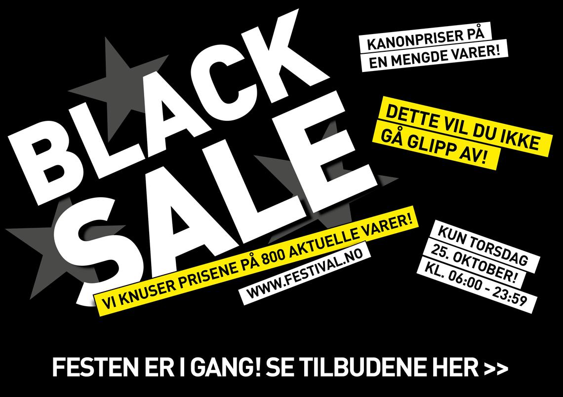 BLACK SALE 2018
