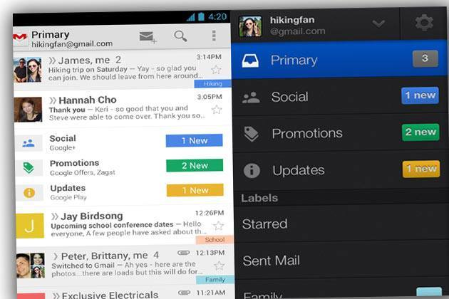 Google Once Again Set Its Chore to Redesign the Gmail's