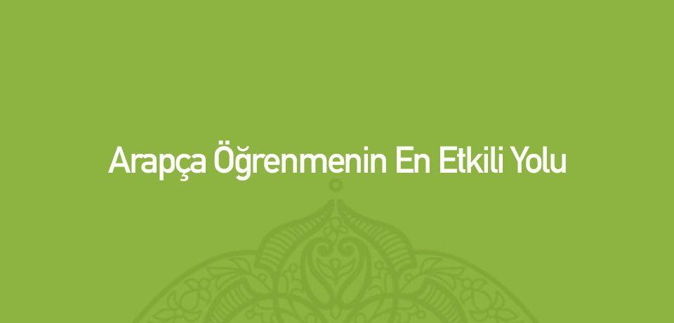Arapça Kursu Ankara Tavsiye 2018