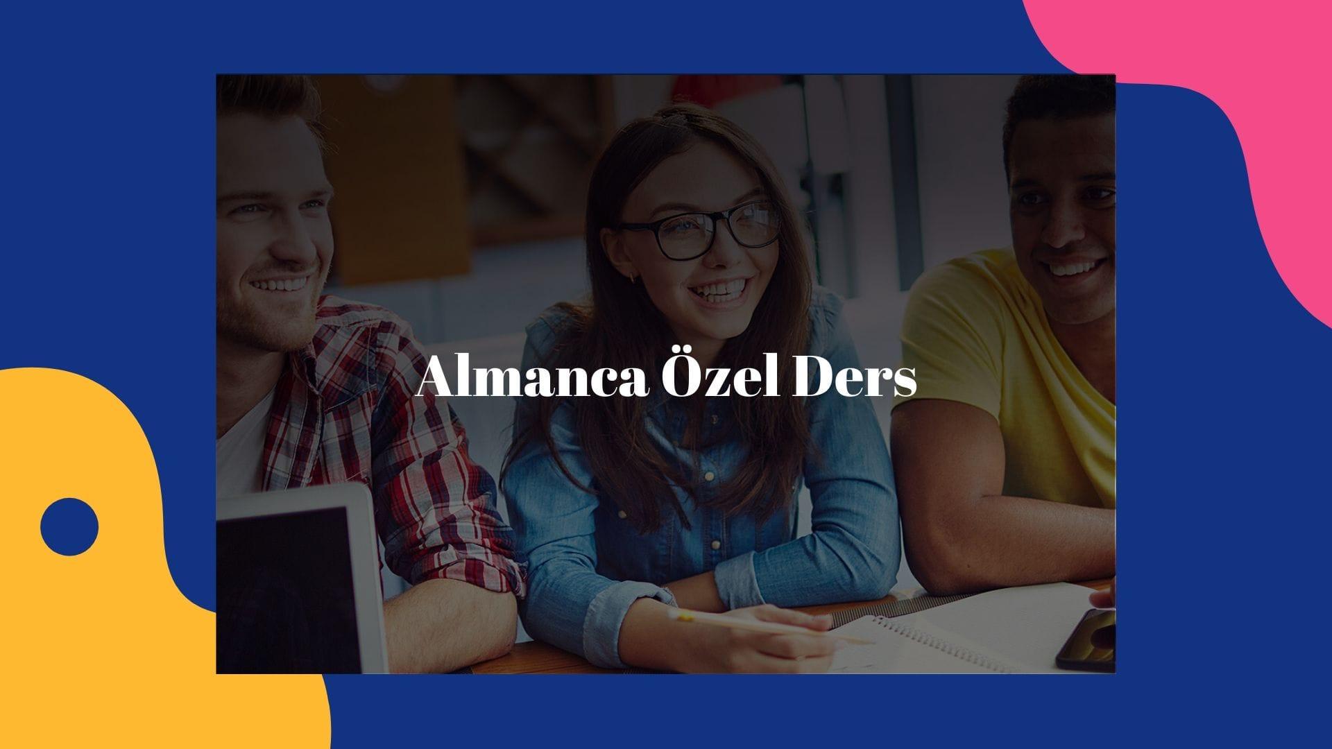 Almanca Özel Ders