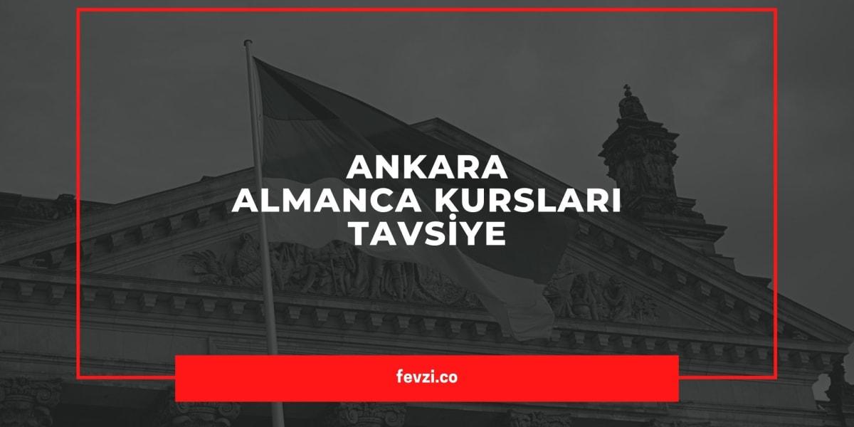 Ankara almanca kursu tavsiye 2020 en iyi almanca kursu fiyatlar