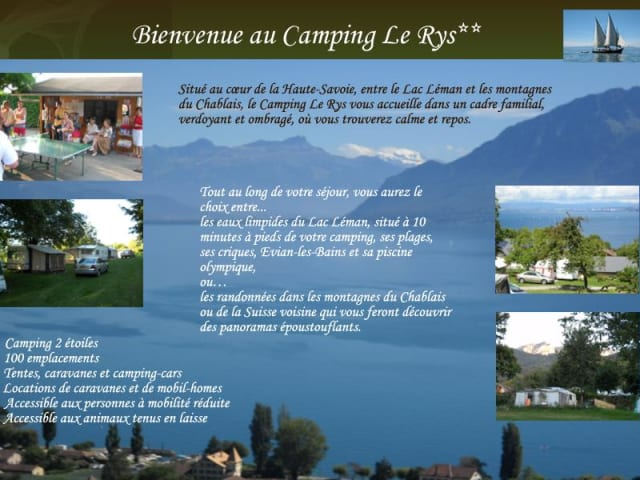 Camping Le Rys