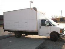 2002 Chevrolet Express G3500 Box Truck