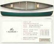 Bell Canoe Alaskan 17