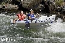 Inflatable 2 person Whitewater Kayak w/Seats & Paddles